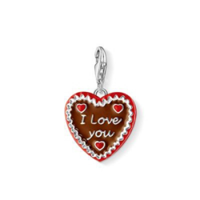 Thomas Sabo Gingerbread Heart Charm 1096-007-2
