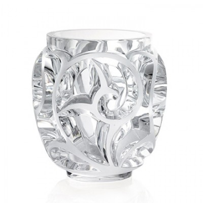 Lalique - Tourbillons Small Clear Vase