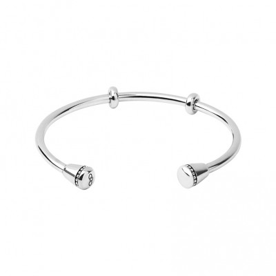 Links of London - Narrative Sterling Silver Charm Cuff (Large) 5010.3440