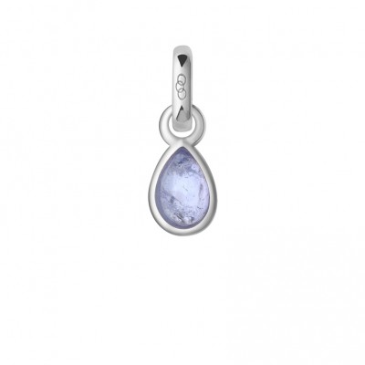 Links of London Tanzanite & Sterling Silver December Mini Birthstone Charm 5030.2465