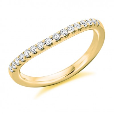 DIAMOND HALF ETERNITY RING HET8699