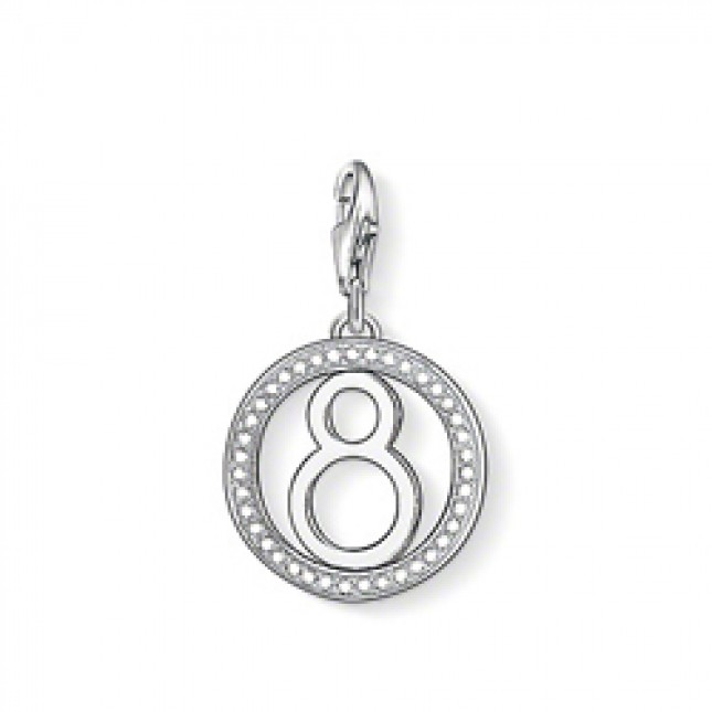 "Thomas Sabo Charm ""Lucky Number 8"" 1049-051-14"