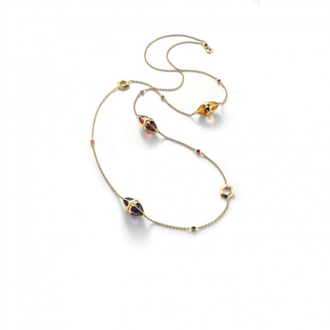 Baccarat B Lovely Long Necklace 2803940