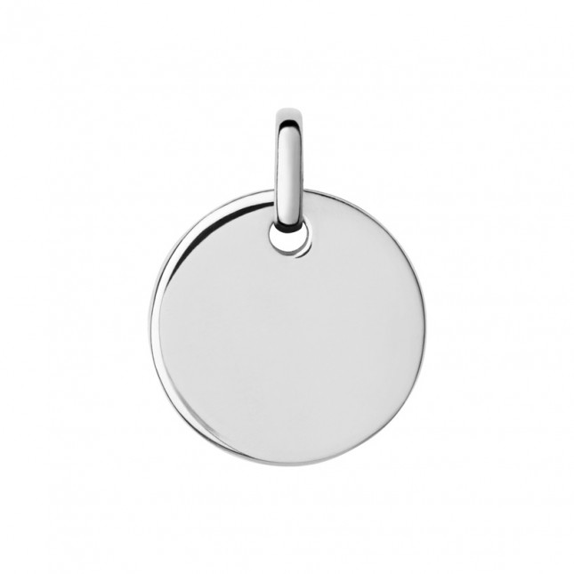 Links of London Narrative Sterling Silver Small Round Disc Pendant 5024.1369