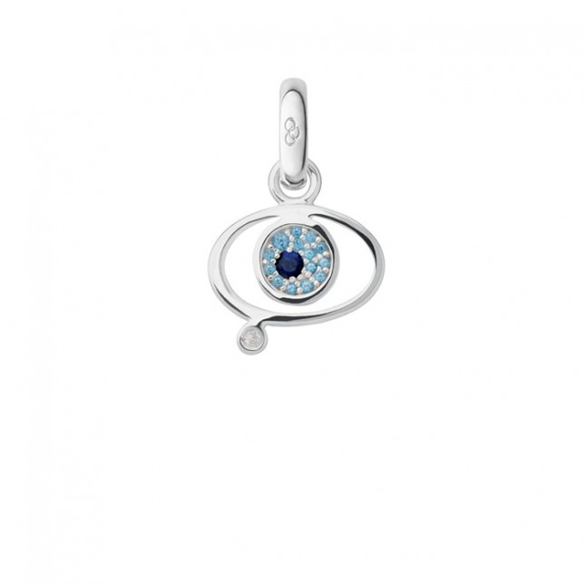 Links of London Evil Eye Charm Sapphire Blue Topaz 5030.1919