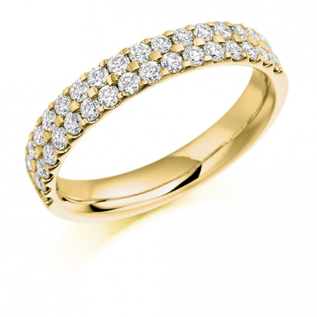 DIAMOND HALF ETERNITY RING HET1017