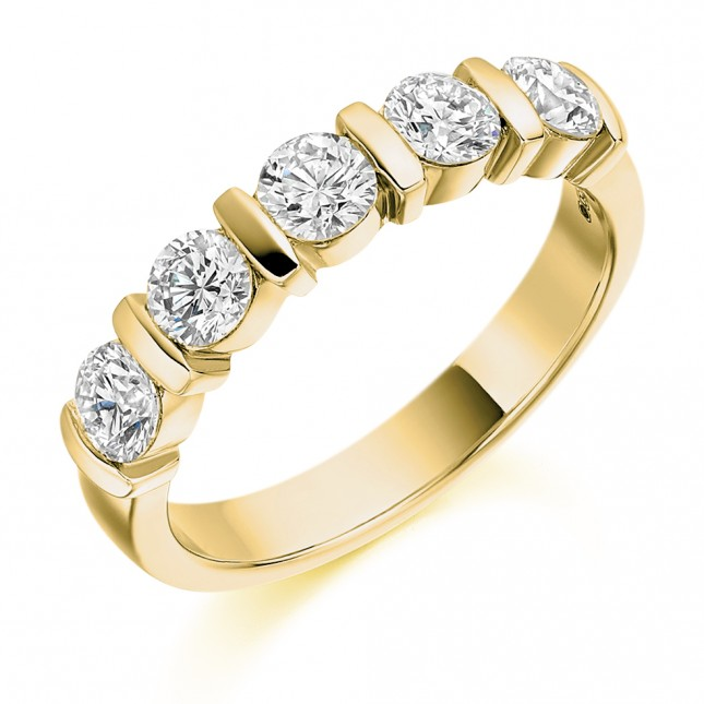 DIAMOND HALF ETERNITY RING HET1947