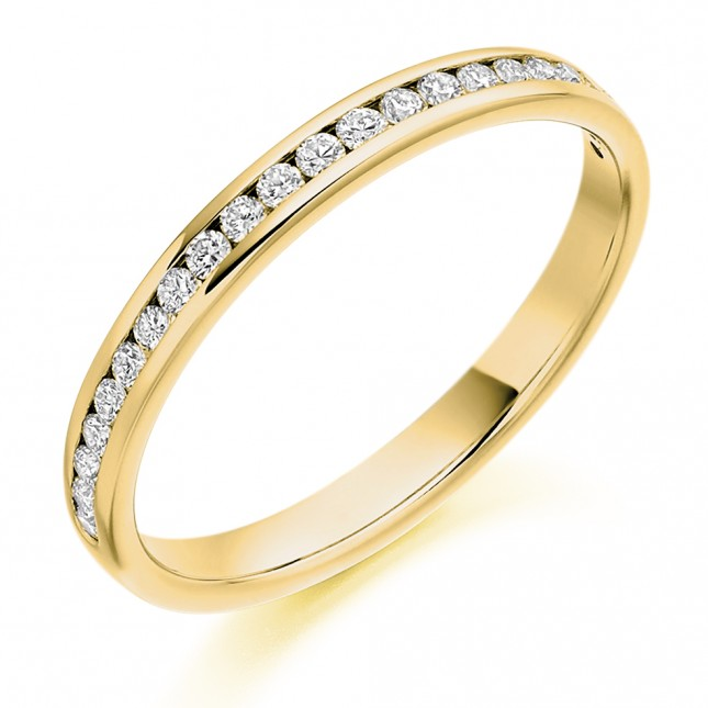 DIAMOND HALF ETERNITY RING HET2088