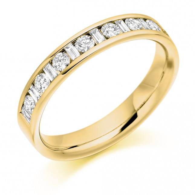 DIAMOND HALF ETERNITY RING HET2315