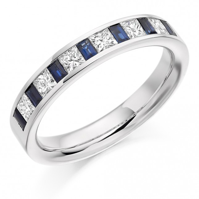 DIAMOND HALF ETERNITY RING HET918