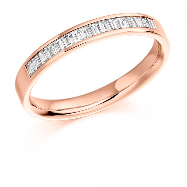 DIAMOND HALF ETERNITY RING HET924