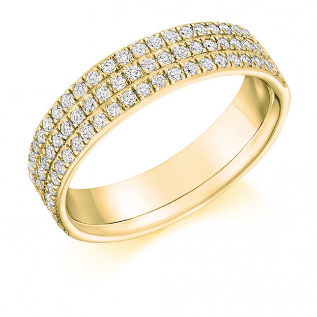 DIAMOND HALF ETERNITY RING HET9323