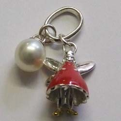 and pearl charm by molly brown