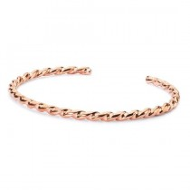 Trollbeads - Twisted Copper Bangle (Small) TCUBA-00008