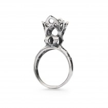 Trollbeads - Crown of Fantasy Ring, Size 53. TAGRI-00313