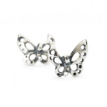 Trollbeads - Dancing Butterfly Earrings. TAGEA-10007