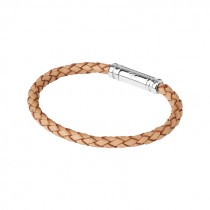 Links of London Mens Venture Tan Leather Bracelet 2110.0056