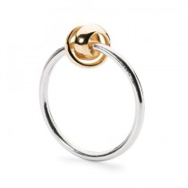 Trollbeads - Neverending Ring, Silver & Gold. TAGRI-00293