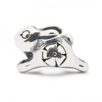 Trollbeads - Jumping Baby Rabbit. TAGBE-30037