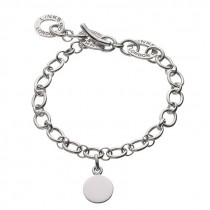 Links of London - Sterling Silver Baby Disc Charm Bracelet 4510.0133