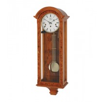 Comitti Yew Finish, Break Arch Wall Clock