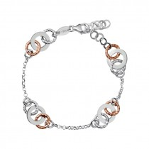 Links of London - Aurora Bi-Metal Multi Link Bracelet 5010.2532