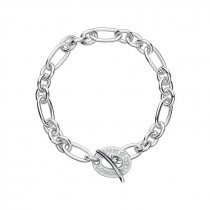 Links of London - Sterling Silver Chain Charm Bracelet 5010.2645