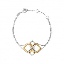 Links of London - Infinite Love Sterling Silver & 18kt Yellow Gold Vermeil Bracelet 5010.3587