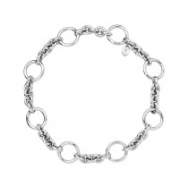 Links of London - Sterling Silver Capture Charm Bracelet. 5010.3615