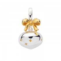 Links of London - Sterling Silver & 18kt Yellow Gold Vermeil Bauble Charm 5030.2543