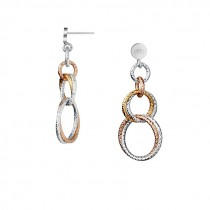 Links of London - Aurora Double Mixed Metal Link Earrings