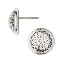 Links of London - Timeless Sterling Silver Domed Stud Earrings 5040.2555