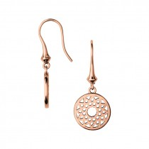 Links of London - Timeless 18kt Rose Gold Vermeil Small Drop Earrings.
