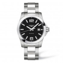 LONGINES CONQUEST MEN'S WATCH