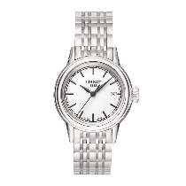 Tissot Carson White Dials Stainless Steel (Ladies)
