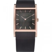 BERING WOMEN'S WATCH MILANESE BROWN
