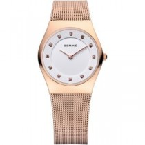 BERING CLASSIC COLLECTION WOMEN'S WATCH MILANESE ROSE GOLD