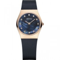 BERING  CLASSIC COLLECTION WOMEN'S WATCH MILANESE BLUE