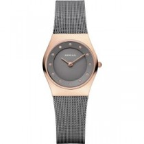 BERING CLASSIC COLLECTION WOMEN'S WATCH MILANESE GREY