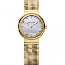 BERING CLASSIC COLLECTION WOMEN'S WATCH MILANESE GOLD