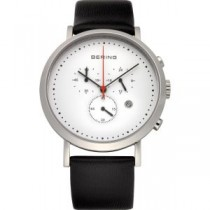 BERING CLASSIC COLLECTION UNISEX WATCH CALFSKIN BLACK