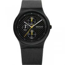 BERING CERAMIC COLLECTION MEN'S WATCH MILANESE GREY