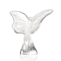 Lalique Butterfly Rosee Clear