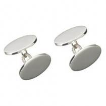 Links Of London Classic Oval Chainlink Cufflinks 2515.0369