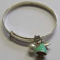 Molly Brown, Green Aurora bangle.