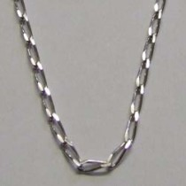 Lalique, silver chain necklace.