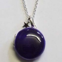 Molly Brown large purple Lulu locket.
