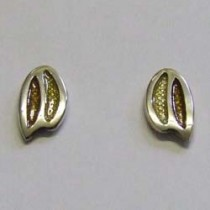 Silver Python Zola earrings, by Ortak.