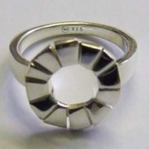 Sterling Silver Purity Ring, by Ortak.