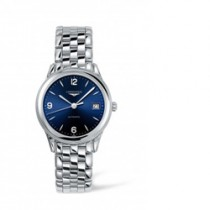 GENTS LONGINES STEEL BRACELET WATCH